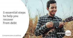 Steps to recover from debt