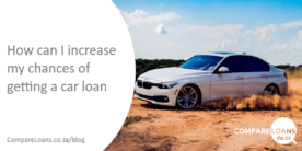 How can I increase my chances of getting a car loan