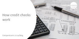 How credit checks work